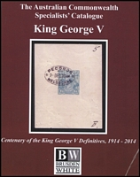 Lot 160 [2 of 2]:Australia: Australian Commonwealth Specialists Catalogues incl Kangaroos 2013. King George V 2007 plus King George V Centenary of the King George V Definitives 1914-2014 and Queen Elizabeth II 1952-66. All edited by G Kellow and published by Brusden-White. Well used by collector who has made several pencil notations. (2.6kg). (4)