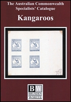 Lot 164:Australia: Australian Commonwealth Specialists' Catalogue-Kangaroos and the Early Federal Period published by Brusden-White, NSW 2017. Almost new.