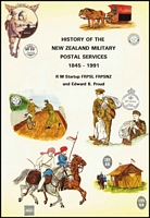 Lot 194:New Zealand: History of the New Zealand Military Postal Services 1945-1991 by Startup & Proud, published by Postal Hist. Pub. E. Sussex. 1992 377pp Dustjacket.