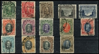 Lot 463 [2 of 2]:1931-37 Definitives set, all cds. Generally fine. SG #15-27, Cat£140. (15)