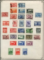 Lot 260 [2 of 6]:1913-54 Collection incl various Roos to CofA 5/-, KGV Heads to 1/4d (2), plus a selection of lower values, some with varieties, some perf 'OS', also 1934 Vic Centenary (3), Macarthur (3), 1935 ANZAC (2), Jubilee 2/- (MLH), 1937 NSW Sesqui (3 mint) few later. Mostly used. Mixed condition. (150+)