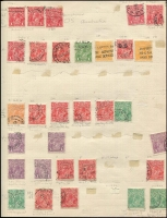 Lot 260 [5 of 6]:1913-54 Collection incl various Roos to CofA 5/-, KGV Heads to 1/4d (2), plus a selection of lower values, some with varieties, some perf 'OS', also 1934 Vic Centenary (3), Macarthur (3), 1935 ANZAC (2), Jubilee 2/- (MLH), 1937 NSW Sesqui (3 mint) few later. Mostly used. Mixed condition. (150+)