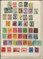 Lot 260 [1 of 6]:1913-54 Collection incl various Roos to CofA 5/-, KGV Heads to 1/4d (2), plus a selection of lower values, some with varieties, some perf 'OS', also 1934 Vic Centenary (3), Macarthur (3), 1935 ANZAC (2), Jubilee 2/- (MLH), 1937 NSW Sesqui (3 mint) few later. Mostly used. Mixed condition. (150+)