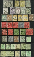 Lot 165 [3 of 3]:1913-70s Collection incl 3rd Wmk 2/-, CofA 5/- (3), 1948-56 Arms (4), 1963-65 Navigators (6) all used, 1971 Christmas block of 7 (MUH), Postage Dues incl few 1902-04 to 1/- used, 1947-57 7d, 2/- & 5/- (all MUH). Mixed condition. (Few 100)