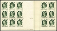 Lot 170 [2 of 3]:1937-78 Collection on leaves incl KGVI coil pairs, range of later issues incl 1965 5d green Queen block of 9 with 3 imperf between pairs & strip of 3 imperf at right, and block of 6 with 3 units imperf between, 1971 Christmas block of 25 (2 units MLH), etc. (350+)
