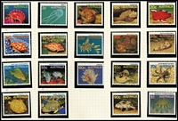 Lot 171 [1 of 7]:1953-90s Collection thematically arranged (birds, Christmas, flight, marine life, reptiles, sport, etc) incl 1969 Flight block of 9, 1990 Aust/USSR Joint issue M/S optd 'NZ 90'. Face value of Decimal issues $150+. (480+ & 8 M/S)