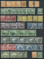 Lot 381 [2 of 4]:1850s-1953 Collection on 29 Hagners incl good selection of QV incl 1897 Jubilee 1c (6), 2c (4), 3c (5), 5c (4), 6c, 8c (2), 10c, 15c, 20c & 50c (2), (total Cat £890), 1908 Quebec various to 10c, 20c, 1927 Confederation (5 sets), 1928-29 Picts (3 sets plus 2 additional 50c Bluenose), 1935 Jubilee (6 sets), 1937-38 Picts (5 sets), 1942-48 War Effort (3 sets), 1946 Peace (6 sets), Special Delivery issues, Postage Dues, Officials optd 'G' or perf 'OH/MS', few Bill stamps, coils, pre-cancels, etc. Condition of earlies a little mixed, nevertheless a very desirable lot. (100s)