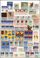 Lot 122 [2 of 4]:World 1890s-1970s: crammed into 64 page as new Prinz stockbook with locals, Customs Duty, Easter stamps, Patriotic, TB stamps, Christmas seals, Wildlife stamps, tourism labels, Boy's Town, Centenary labels, Exhibition labels, Olympics, etc. Some multiples. Far too many issues to mention. Inspection recommended. Mixed condition. (1,000s)