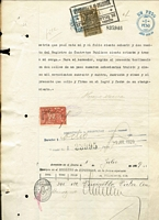 Lot 2:Argentina Revenues 1920-37 Revenue stamps on 
