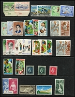 Lot 6 [2 of 3]:British Commonwealth incl Canada, Christmas Island 1963 Picts (10), Cocos (Keeling) Islands 1963 Picts (6), Cook Islands, GB 1897 1/- Prince of Wales Hospital Fund, Malaya, Nauru 2002 Fire Fighters M/S, Catholic Church M/S, 2003 End of WWII M/S, New Zealand few Health issues, Norfolk 1947 Ball Bay (12) 1959 3d & 2/-, etc. Generally fine