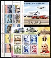 Lot 6 [1 of 3]:British Commonwealth incl Canada, Christmas Island 1963 Picts (10), Cocos (Keeling) Islands 1963 Picts (6), Cook Islands, GB 1897 1/- Prince of Wales Hospital Fund, Malaya, Nauru 2002 Fire Fighters M/S, Catholic Church M/S, 2003 End of WWII M/S, New Zealand few Health issues, Norfolk 1947 Ball Bay (12) 1959 3d & 2/-, etc. Generally fine