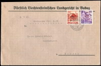 Lot 16 [2 of 5]:Covers 1940s-90s incl pre-1949 Germany (6), East Germany (20+) Liechtenstein (15+) incl few registered, express covers, sheetlets, Priority, M/Ss, etc. (45+)
