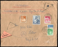 Lot 16 [4 of 5]:Covers 1940s-90s incl pre-1949 Germany (6), East Germany (20+) Liechtenstein (15+) incl few registered, express covers, sheetlets, Priority, M/Ss, etc. (45+)