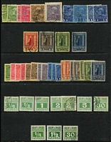 Lot 40 [2 of 4]:Levant, Crete, Lombardy & Venetia Collection with values from Lombardy & Venetia to 50sld (2), Turkish Currency to 20pi (2), or French Currency to 4fr. Some postmark interest. Generally fine. STC DM1,600.