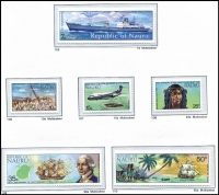 Lot 14 [3 of 3]:Pacific Islands Collection some on Seven Seas hingeless pages (Nauru), others on 12 Hagners incl Cocos (Keeling) Islands, Nauru 1970s-90s incl 1974 1st Contact, 1978 Surcharges (4), 1990 Girl in the Moon (2 sets), Norfolk Island, Samoa 1950s-90s with few M/Ss, sheetlets. (100s)