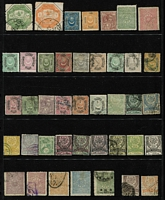 Lot 105 [1 of 3]:World incl Czechoslovakia, Ghana, Greece, Hungary 1942 (Dec) Red Cross Sheets perf (3) & imperf (3), India, Netherlands, Poland, Turkey, USA, etc, few perfins, 40+ empty Hagners (various sizes), several near empty stockbooks, also The Stamps of the Commonwealth of Australia by R Rosenblum (4th Edition, 1936), plus Australian Coin Albums for ½ds & 1ds with some coins included. Mixed condition throughout. HEAVY LOT (Approx 14kg). (100s)