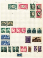 Lot 59 [2 of 3]:World incl Belgium, China few opts, France 1954 Air 500f & 1,000f Planes, Hungary, Norway, Papua New Guinea 1964 10/- Bird (MLH), South Africa, Spain, USA, etc. Generally fine. (100s)