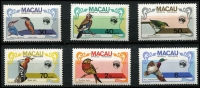 Lot 62 [1 of 4]:World incl Macau 1984 Ausipex Birds (6, MUH), New Zealand, San Marino 1984 Ausipex pair (MUH), Spain, USA range incl few stamps, FDCs, Exhibition souvenir cards, etc. (100s)