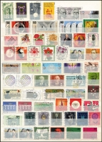 Lot 1374 [3 of 10]:1900s-80s Collection in 32 page stockbook half filled with Inflation issues, Officials, West & East Germany, Berlin, much thematic interest throughout. (100s)