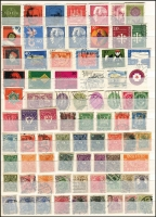 Lot 1374 [4 of 10]:1900s-80s Collection in 32 page stockbook half filled with Inflation issues, Officials, West & East Germany, Berlin, much thematic interest throughout. (100s)