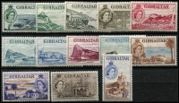 Lot 1425 [2 of 2]:1953-59 Pictorials SG #145-58, MUH, Cat £180. (14)