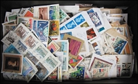 Lot 129:World 0.50kg (Approx) On paper. Many better stamps. No Australia. (100s)