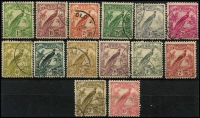 Lot 1291 [2 of 2]:1932-34 Undated Birds 1d to £1, generally fine/very fine. (15)