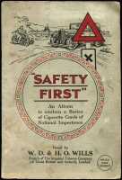 Lot 130 [2 of 5]:Cigarette Cards: John Player 1935 Aeroplanes (Civil) 2 full sets of 50 (one in printed album) and a few spares, also WD & HO Wills (Road) 'Safety First' set of 50 in special printed album. Mixed condition. (150+)