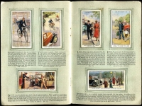 Lot 130 [3 of 5]:Cigarette Cards: John Player 1935 Aeroplanes (Civil) 2 full sets of 50 (one in printed album) and a few spares, also WD & HO Wills (Road) 'Safety First' set of 50 in special printed album. Mixed condition. (150+)