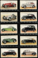 Lot 129 [1 of 3]:Cigarette Cards: John Player Motor Cars Series 1 set of 50.