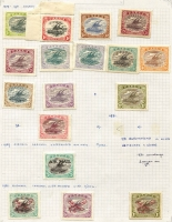 Lot 373 [2 of 4]:1901-39 Collection incl 1901-03 ½d to 6d, 1906 Large Papua opt 1d, 1/-, Small opt ½d, 2d, 3d, 1907-10 'Large' Papua various to 2/6d, 1911-15 Monocolours to 2/6d (ex 4d), 1917 Surcharges (6), 1916-31 Bi-colours (11) to 2/6d, 1931 Surcharges, 1934 Declaration, 1935 Jubilee. Condition mixed. (88)