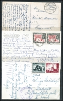 Lot 79 [3 of 3]:1908-2000s: from Br Guiana 1963 Cove & John to USA, Chile, Czechoslovakia (5), GB (7), Ethiopia 1955 to Czechoslovakia, Gambia, Germany (11), Guinee Bissau to Italy, Heligoland 1940 to Feldpost 10.563, Hungary (7), India (3), Italy (13), KUT, Malta, Morocco (3), PNG 1956 to GB, USA (8), etc. (100)