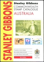 Lot 1165:Australia: Stanley Gibbons Australia 9th Edition 2014. 331pp+. Slight cover fault.