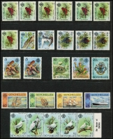 Lot 455 [2 of 3]:1963-86 Collection on 30+ Hagners almost complete incl 1969-75 Picts, 1972 Rare Birds (6 & M/S), 1976 Independence Opts (9), 1977-84 Definitives, 1982 Bird strips, 1985 Whales, 1985 Expo M/S (2), 1986 Papal Visit (4 & M/S), also 1951-80 Postage Dues (18). Cat £340+. (460 & 29M/Ss/sheetlets)