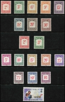 Lot 455 [3 of 3]:1963-86 Collection on 30+ Hagners almost complete incl 1969-75 Picts, 1972 Rare Birds (6 & M/S), 1976 Independence Opts (9), 1977-84 Definitives, 1982 Bird strips, 1985 Whales, 1985 Expo M/S (2), 1986 Papal Visit (4 & M/S), also 1951-80 Postage Dues (18). Cat £340+. (460 & 29M/Ss/sheetlets)