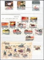 Lot 89 [2 of 3]:Fire Engines: & fire fighting on land, sea & air. Numerous sets from Angola, Brazil, Cambodia, Canada, Chile, Cuba, GB, DPR Korea, Monaco, Mongolia, Nicragua, Poland, Portugal, Russia, St. Tomé E Príncipe, Singapore, Sweden, The Gambia, USA, Upper Volta, Viet-Nam, some with M/S, etc. (100s)
