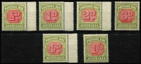 Lot 729 [2 of 2]:1938-63 New Frame Plates ½d to 1/-, BW #D122-8, Cat $530. (7)