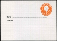 Lot 717 [1 of 2]:1967 5c Orange QEII Embossed for The East Gippsland Library Service, unused, BW #PS39.
