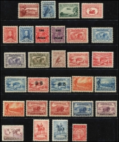 Lot 1218 [3 of 4]:1913-65 Collection incl Kangaroos 3rd Wmk 2½d, CofA 9d, 2/-, KGV Heads on 11 Hagners incl 1d Engraved (2), Single Wmk various to 2d red, No Wmk (2), LM Wmk (5), SM Wmk, CofA Wmk to 5d, few optd 'OS' incl CofA 6d Roo & KGV 5d. Commems incl 1932 Bridge pair optd 'OS', 1934 Macarthur (4), 1936 SA Centenary (3), 1937 NSW Sesqui (3), numerous low value KGVI & QEII issues, 1953 Food block of 9, 1959-64 to 5/- Cattle Cream paper, 1963-64 Navigators to 10/-, etc. Generally fine. (350+)