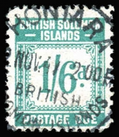 Lot 1333 [1 of 2]:1940 Postage Dues set, SG #D1-8, Cat £139. (8)