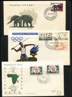 Lot 6:Belgian Congo 1942-80s Collection incl 1958 
