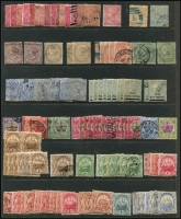 Lot 4:Bermuda 1880s-1953 duplicated  range of QV issues 