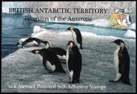 Lot 1008 [1 of 2]:Booklet: British Antarctic Territory 2006 Penguins of the Antarctic stamps in each booklet cancelled with Port Lockroy (BAT) '12/11/06' datestamps. Cat £152 as uncancelled booklets, SG #SB1. Unusual. Ex Mayo. (8)