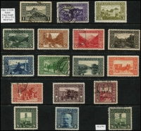 Lot 6 [2 of 7]:Bosnia & Herzegovina 1870s-1918 Collection incl selection of Arms with various perf changes, 1906-10 scenic views, with many perf varieties, also a range of imperf issues, Newspaper stamps, Postage Dues, imperf demonetised scenic views issues (with punch holes), few private perfins, Revenue stamps incl 2nd set to 2fl optd 'SPECIMEN' (9), 1919 advertising PPC to Zagreb. Also Liechtenstein 1912-15 Prince John (3), 1917-18 set (6). (100s)