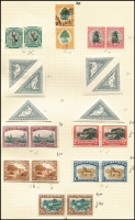 Lot 6 [1 of 4]:British Africa: South Africa 1926-53 Collection on leaves incl 1927-30 Picts to 2/6d in mint pairs, 1930-44 2/6d pairs (2, one used), 1933-48 10/- block of 8 used, range of Bantams, 1947-54 various pairs incl 2/6d & 5/- mint, etc. Southern Rhodesia 1935-41 Postage & Revenue 2d (both perfs), 3d, 1937 Defins mint or used to 5/-, 1940 BSA Jubilee (8), 1953 Coronation. Generally fine. Cat £500++. (c.350)