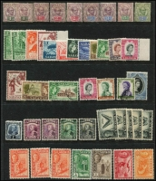 Lot 9 [3 of 3]:British Commonwealth Collection incl North Borneo 1939 Postage Due 10c, used (Cat £475), Papua incl 1932 CofA wmk 9d & 1/3d, 1934 Declaration (4), all MUH, 1938 Br Possession (5), 1939 Airs (6, MLH), Pitcairn Islands 1940-51 Picts (10), NZ KGVI 1½d tied to piece by 'PITCAIRN ISLANDS/N.Z. POSTAL AGENCY' cds. few later commems. Sarawak 1888-97 various to 12c mint, range of later KGVI & QEII.Generally fine. (Few 100)