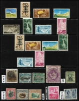 Lot 10 [3 of 3]:British Commonwealth Collection incl Ascension, Canada 1928-29 $1 Parliament used, 1933 Grain Conference (MLH), Ceylon 1863-70 10d used, 1938-49 30c, 1r (MLH), Falkland Islands 1960-66 5/- Birds, Gibraltar, Hong Kong KEVII $1 used, 1937 Coronation (MLH), India, KUT 1954-59 £1 Queen used, New Zealand KEVII Officials incl 8d & 1/-, KGV 7½d, 2/- Admiral used, 1960-66 Picts 2/- to £1 (MLH), North Borneo 1895 $5 Arms used, PNG 1952-58 10/- Map, £1 Fisherman, Southern Rhodesia. Generally fine. (76)