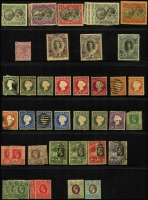 Lot 11 [2 of 4]:British Commonwealth Oddments from QV to early QEII incl Ascension, Br. Guiana, Cape of Good Hope, Gambia, Grenada, KUT, Leewards, New Brunswick, Newfoundland, Nova Scotia, Nyasaland, St Lucia, St Vincent, Sierra Leone, Transvaal. Mixed condiion. (Few 100)