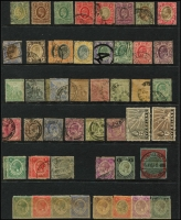 Lot 11 [3 of 4]:British Commonwealth Oddments from QV to early QEII incl Ascension, Br. Guiana, Cape of Good Hope, Gambia, Grenada, KUT, Leewards, New Brunswick, Newfoundland, Nova Scotia, Nyasaland, St Lucia, St Vincent, Sierra Leone, Transvaal. Mixed condiion. (Few 100)