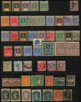 Lot 11 [4 of 4]:British Commonwealth Oddments from QV to early QEII incl Ascension, Br. Guiana, Cape of Good Hope, Gambia, Grenada, KUT, Leewards, New Brunswick, Newfoundland, Nova Scotia, Nyasaland, St Lucia, St Vincent, Sierra Leone, Transvaal. Mixed condiion. (Few 100)